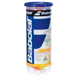 Tennisbälle- Babolat orange - 3er