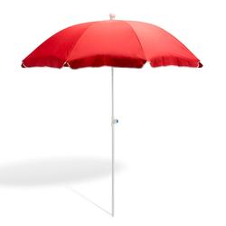 Strandschirm terracotta 180 cm UV30 Sonnenschirm Gartenschirm Schirm