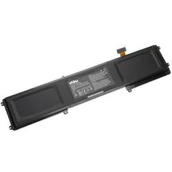 vhbw Akku passend für Razer Blade 2016 14 INCH V2, 2016 GTX1060, 2016 gtx1080, 2016 GTX970M Notebook (6160mAh, 11.4V, Li-Ion, schwarz)