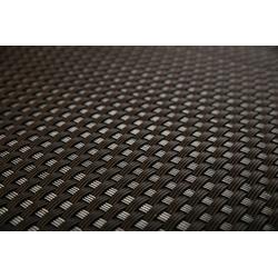 Rattan Art Balkonsichtschutz Rattan Art Polyrattan Balkonichtschutz - Dunkelbraun 0,9m x 5m