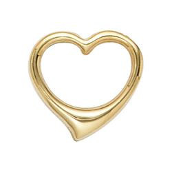 JOBO Herzanhänger Schwingherz, 585 Gold