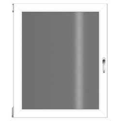 RORO Türen & Fenster Kunststofffenster, BxH: 60x90 cm, ohne Griff