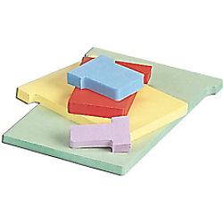 Nobo T-Steckkarten 3 Grau 9,2 x 12 cm 100 Stück