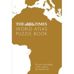 The Times World Atlas Puzzle Book: Taschenbuch von Gareth Moore/ Times Atlases