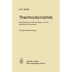 Thermodynamik: eBook von Hans D. Baehr