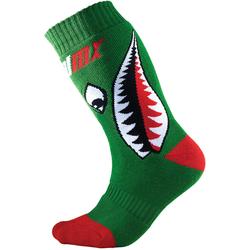 Oneal Pro MX Bomber Kinder Socken, rot-grün