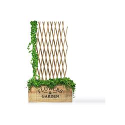 Kubus Rankgitter Bambus-Pflanzengitter 180 cm x 120 cm
