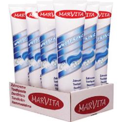 Marvita Zahncreme, Zahnpasta in der 125 ml Tube, Sorte: Whitening