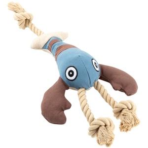HUNTER Canvas-Spielzeug Sansibar Rantum Hummer blau-braun, Länge: ca. 43 cm