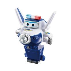 Super Wings Spielzeug-Flugzeug Super Wings Mini Spielzeugfigur Transform-Flugzeug blau