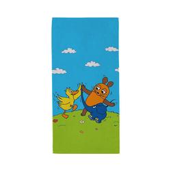 Die Maus Badetücher Strandtuch DIE MAUS -Tanz mit Feunden, 75 x 150 cm