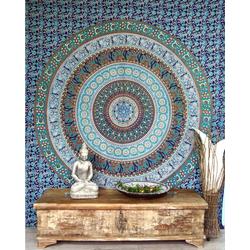 Tagesdecke Indisches Mandala Tuch, Wandtuch, Tagesdecke.., Guru-Shop