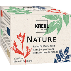 Nature Set - ressourcenschonende Farben, 4 x 50 ml