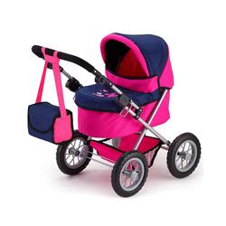 Bayer Puppenwagen Puppenwagen Trendy pink/blau
