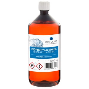 meracus Isopropylalkohol 99,9%, Propan-2-ol klar, Isopropanol, 1x 1000ml