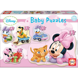 Educa Puzzle. Baby Puzzles Minnie 3/3x4/5 Teile
