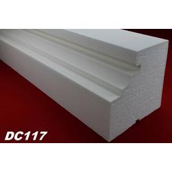 DC117 Fensterbankprofil Fenster Zierprofil 190x180mm Fassadenprofil Fassadenstuck Profil Leiste 200cm