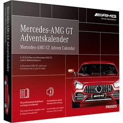Mercedes-AMG GT Adventskalender schwarz/rot