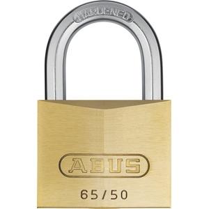 ABUS - 65/50 50mm Messing Vorhängeschloss Gleichschließend 6504 - ABUKA12003