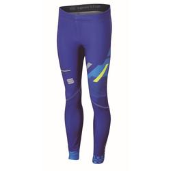 Sportful Squadra Tight Junior - Skilanglaufhose - Kinder Blue