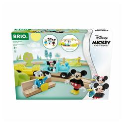 BRIO® Spielzeug-Eisenbahn World Micky Maus Set 18-tlg.