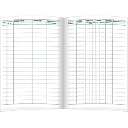 RNK-Verlag Formularbuch 3120 Fahrtenbuch, Pkw mit Kraftstoffverbrauch