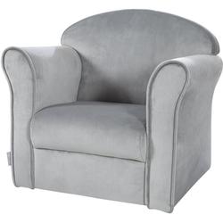 roba® Sessel Lil Sofa, mit Armlehnen grau