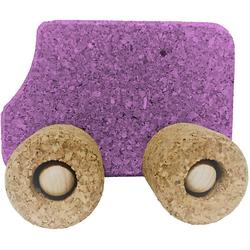 Spielzeugauto Kork Bus, lila