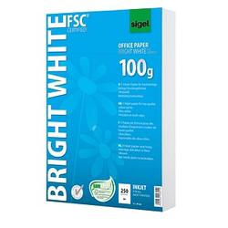 SIGEL Inkjetpapier InkJet-Papier DIN A4 100 g/qm 250 Blatt
