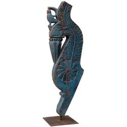 Guru-Shop Dekofigur Antike Holzskulptur - Motiv 2
