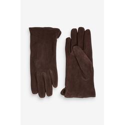 Next Laufhandschuhe Handschuhe aus Veloursleder S