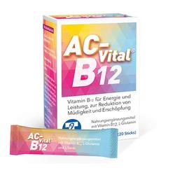 AC-Vital B12 Direktsticks m.Eiweißbausteinen 20 St