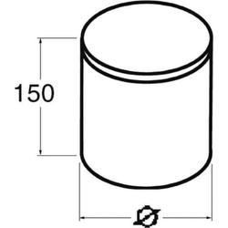 Niedax Brandschutz-Stopfen BSS 90/200