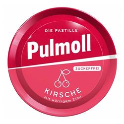 PULMOLL Hustenbonbons Kirsche + Zimt zuckerfrei 50 g