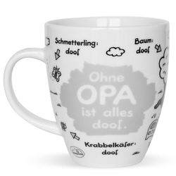 sheepworld Tasse Ohne Opa