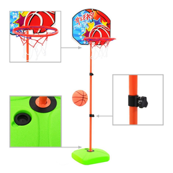 vidaXL Basketballkorb vidaXL Kinder Basketballkorb und Ball Set