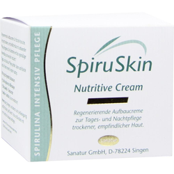 Spiruskin Nutritive Cream f.Trockene Haut
