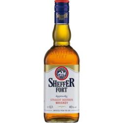 Sheffer Fort Bourbon Whiskey 40,0 % vol 0,7 Liter