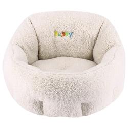 Nobby Komfort Bett oval Puppy elfenbeinfarben