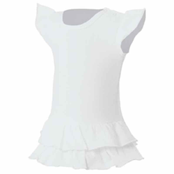 Mädchen T-Shirt Kleid Sandy | nath white 7/8 Jahre