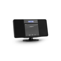 ONECONCEPT V-13 BT Stereoanlage CD MP3 USB Bluetooth Radio Wandmontage Kompaktanlage (UKW-Radiosender, 0 W) schwarz