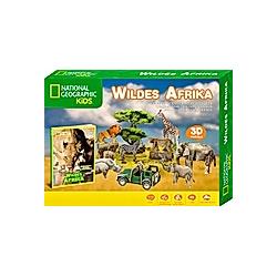 Wildes Afrika (Kinderpuzzle) - Buch