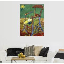 Posterlounge Wandbild, Gauguins Stuhl 70 cm x 90 cm