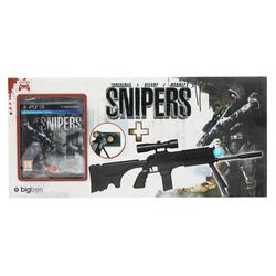 BigBen Bundle Snipers Spiel + Sniper Gun für Sony PS3 Controller