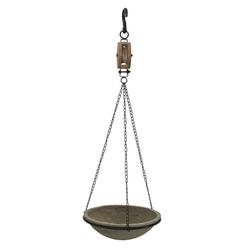 HTI-Line Blumenampel Swing grau