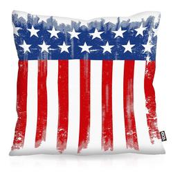 Kissenbezug, VOID, US Flagge Outdoor IndoorFahne usa banner amerika vereinigte staaten 80 cm x 80 cm