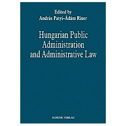 Hungarian Public Administration and Administrative Law - Buch