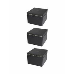 Nils Holger Moormann Archivbox für FNP Regal – mittel schwarz, Designer Nils Holger Moormann, 21.6x32.5x34 cm