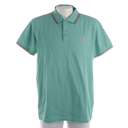 MONCLER Herren Poloshirt türkis, Größe 3xl, 5135533