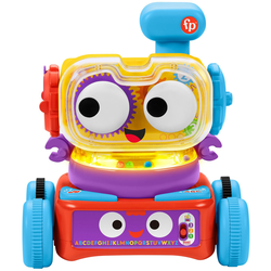 Fisher-Price Lernspielzeug 4in1 Lernroboter Linus bunt Kinder Lernspiele